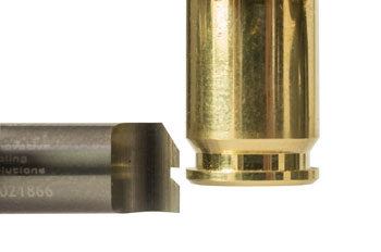 Cutting Brass Casing Extraction Groove