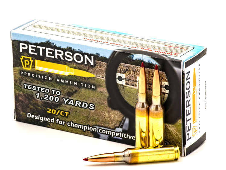 6.5 Creedmoor Peterson Cartridge Precision Ammunition